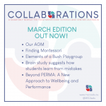 Collaborations – March 2021