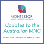 An Important Message from MSCA – Part 2